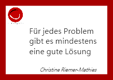 trainpers Spruch von Christine Riemer-Mathies